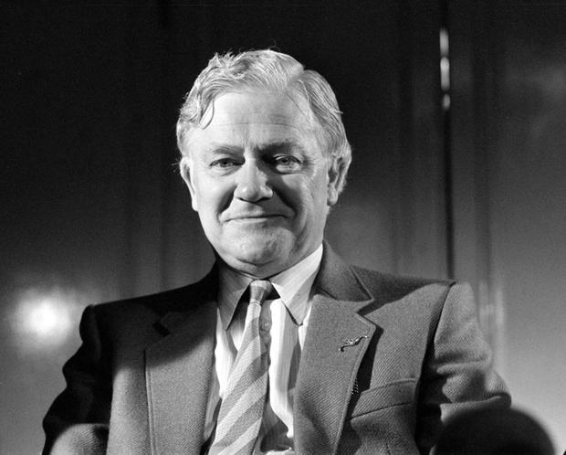 File photo dated 29/09/82 of Watership Down author Richard Adams who has died aged 96, a statement on the book's official website said. PA