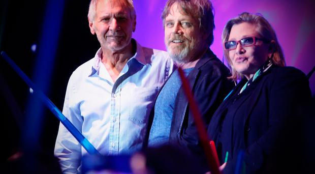 FILE DECEMBER 23: According to reports December 23, 2016 actress Carrie Fisher suffered a heart attack while on a flight from London to Los Angeles. (Photo by Jesse Grant/Getty Images for Disney)