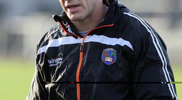 Straight talking: Kieran McGeeney feels there are far too many perceptions and not enough facts articulated in GAA analysis