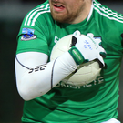 Sidelined: Sean Quigley will miss Fermanagh's Cup bid