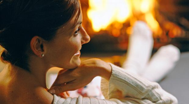 Feeling snug: Hygge, the Danish word for happiness, has proved popular
