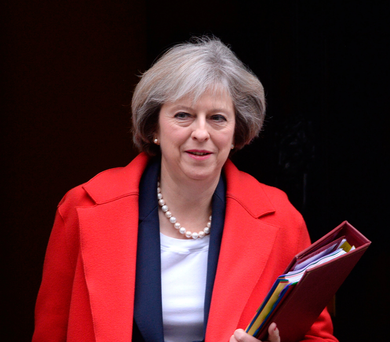 Prime Minister Theresa May. Photo: Stefan Rousseau/PA Wire