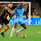 Back in business: Yaya Toure has shone since being brought in from the cold by Pep Guardiola