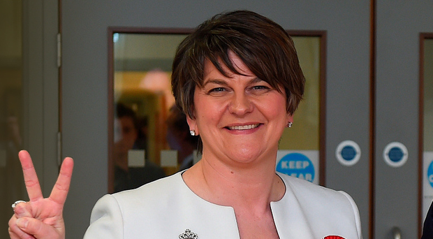 In January, the DUP's Arlene Foster became the first woman and the youngest person to be appointed First Minister