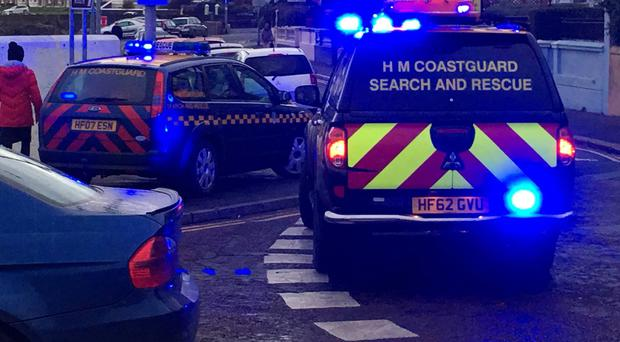 Emergency services attended just after 8am on Wednesday morning