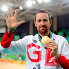 End of the road: Multiple Olympic champion Sir Bradley Wiggins has announced his retirement from cycling aged 36. Photo: David Davies/PA