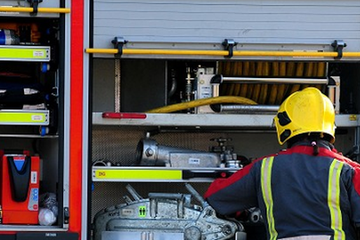 The NIFRS said two dogs in the house at the time of the fire sadly died.