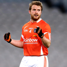 Ruled out: Armagh's Mickey Murray is now off the county panel. Photo: Cathal Noonan/INPHO