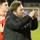 Ready for the fight: Portadown boss Niall Currie is under no illusions. Photo: David Maginnis/Pacemaker