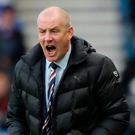 Not a great record: Mark Warburton's Rangers have lost twice already this season to Celtic – including a 5-1 hammering. Photo: Andrew Milligan/PA