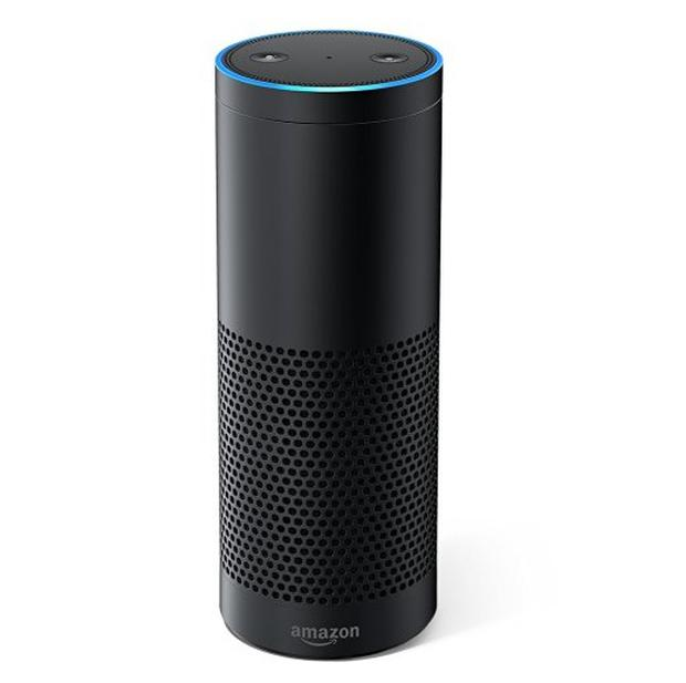 Amazon Echo is a voice-activated computer and speaker meant to help people out
