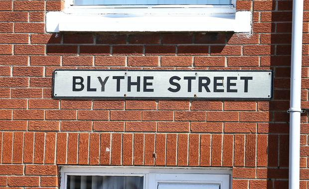 Police are at the scene of an alert in Blythe-Street, south Belfast. (File photo by Kevin Scott/Presseye)