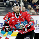 Lucky for some: Belfast Giants ace Colin Shields has already equalled last season's tally of 13 goals