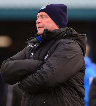 Baby steps: David Jeffrey insists Ballymena are going in right direction