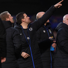 Point made: Blues boss David Healy