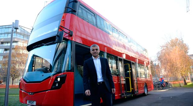 Mayor of London Sadiq Khan unveiled the world's first hydrogen double-decker bus, pioneered by Wrightbus, in November