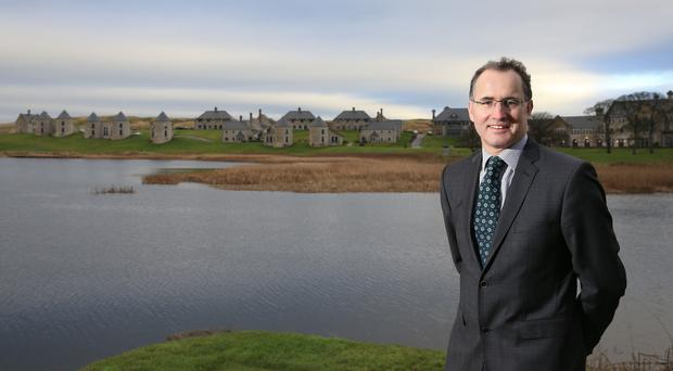 William Kirby, General Manager, Lough Erne Resort.