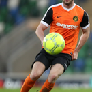 Loan Ranger: Tiarnan McNicholl has returned to Cliftonville