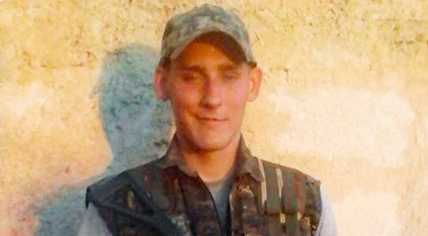 Ryan Lock, 20, from Chichester, West Sussex, who is reported to have been killed fighting against Islamic State in Syria.