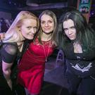 New Year Eve party goers out at QUB Union Speakeasy for Meltdown. Saturday 31 December 2016. Picture by Liam McBurney/RAZORPIX