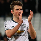Great feeling: Michael Carrick is revelling in United's form. Photo: Ian Walton/Getty Images