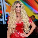 Bianca Gascoigne enters the Celebrity Big Brother House at Elstree Studios on January 3, 2017 in Borehamwood, England. (Photo by Eamonn M. McCormack/Getty Images)