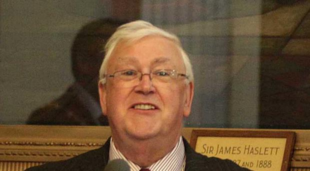 DUP councillor Tom Haire