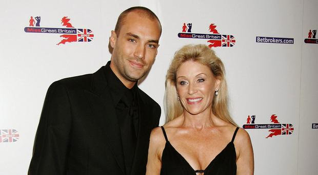 Calum Best and his mother Angie Best