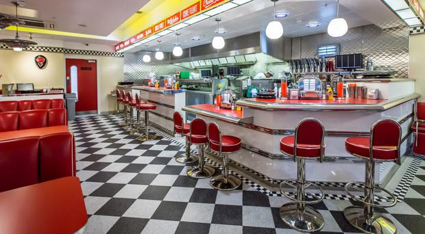 Ed's Easy Diner at Boucher Square , which went bust, is being taken over by the Irish-owned company Eddie Rocket's