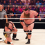 World beaters: Dave Mastiff treats Grado very badly in the new made-up wrestling