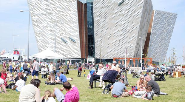 Titanic Belfast's free tickets offer is for Sunday only