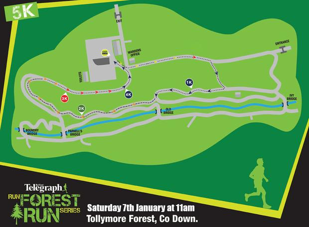 Run Forest Run Tollymore 5K