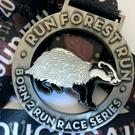 Belfast Telegraph Run Forest Run Series medal