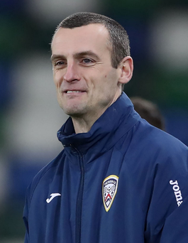 On the hunt: Oran Kearney is still looking for new additions