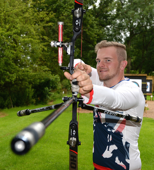Big target: Patrick Huston aims to bring archery to the masses with a new business venture