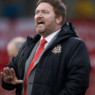 Salvage job: Ports boss Niall Currie is in a positive mood
