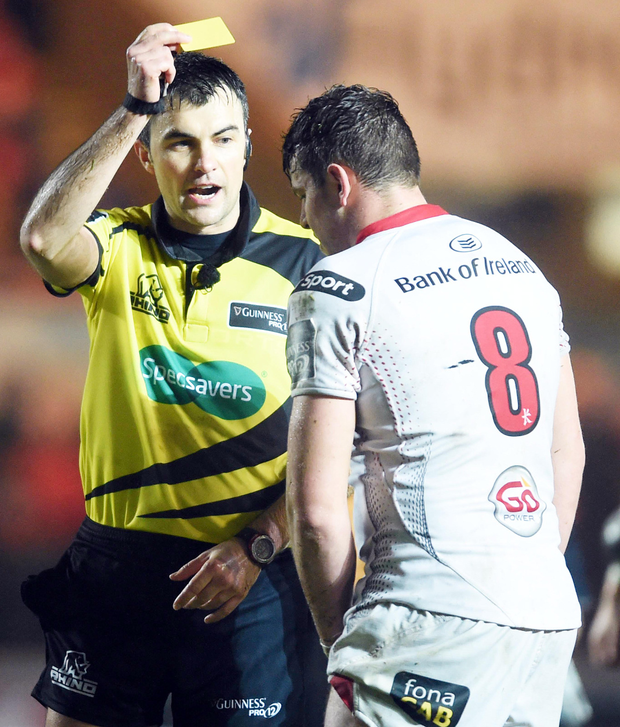 Guinness Pro12: Anger As Ulster Fall Foul Of New Rule