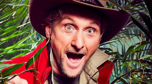 Belfast-bound: Bike legend and jungle celeb Carl Fogarty