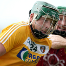 On song: Niall McKenna impressed for Antrim