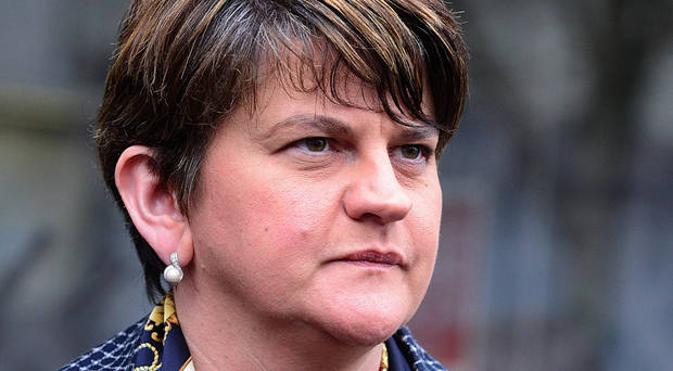 First Minister Arlene Foster faces a vote of no confidence.