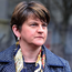 On the ropes: Arlene Foster is facing calls to temporarily stand aside