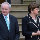 Martin McGuinness resigned as of 5pm on Monday