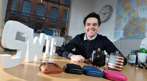 David Galbraith's interest in hip flasks began as a child when he saw his uncle using one