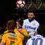 On the up: Ulsterman Stuart Dallas heads Leeds level