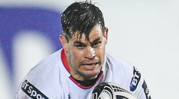 Positive: Ulster's Louis Ludik is confident of beating Exeter