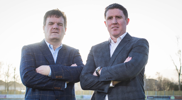 Looking to future: CPA Secretary Declan Brennan (left) and Chairman Michael Briody at yesterday's launch in Dublin
