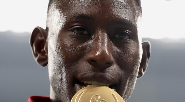 Golden boy: Conseslus Kipruto