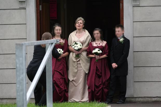 The Wedding of Lesley-Ann Gault to Jeremy Burke took place at Antrim Elim Pentecostal Church.