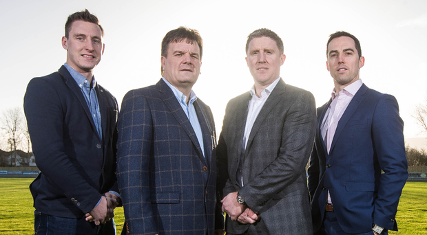 Together: CPA Executive member Kevin Nolan, Secretary Declan Brennan, Chairman Michael Briody and executive member Aaron Kernan