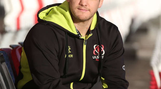Staying put: Chris Henry is delighted to have signed a new two-year deal with Ulster